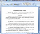 Personal Management Contract-Artist's Point of View-Long Form